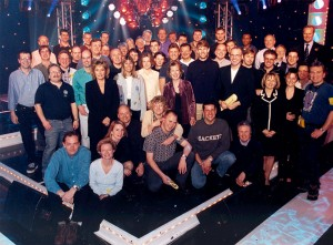 The National Lottery Live - Crew Photo